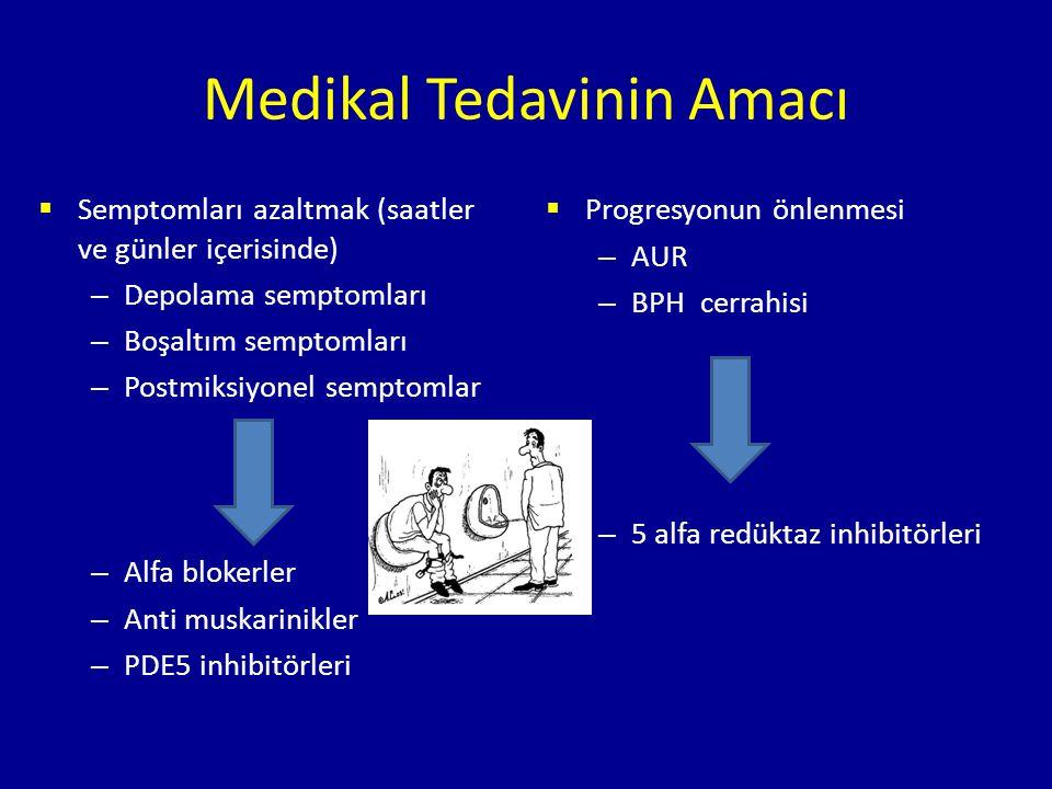 Medikal Tedavinin Amacı