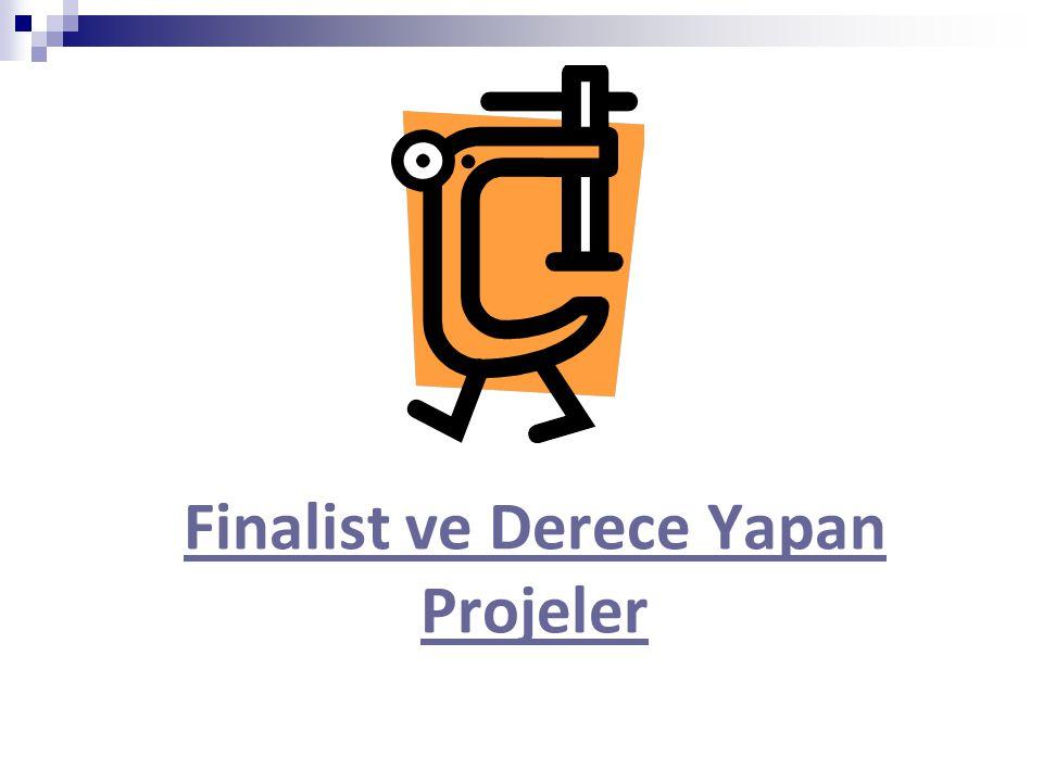 Finalist ve Derece Yapan Projeler