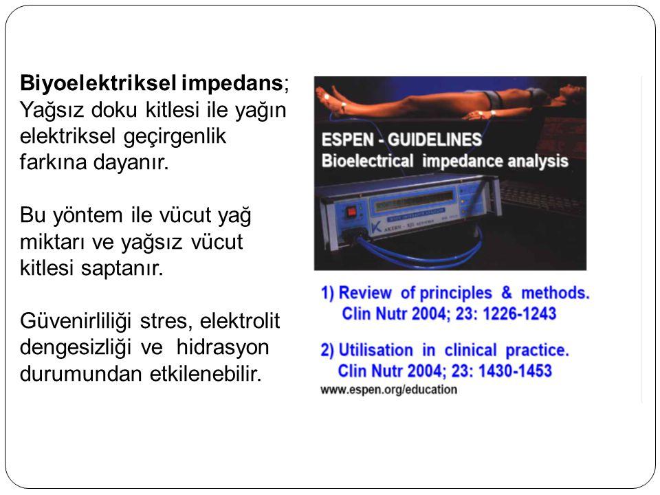Biyoelektriksel impedans;