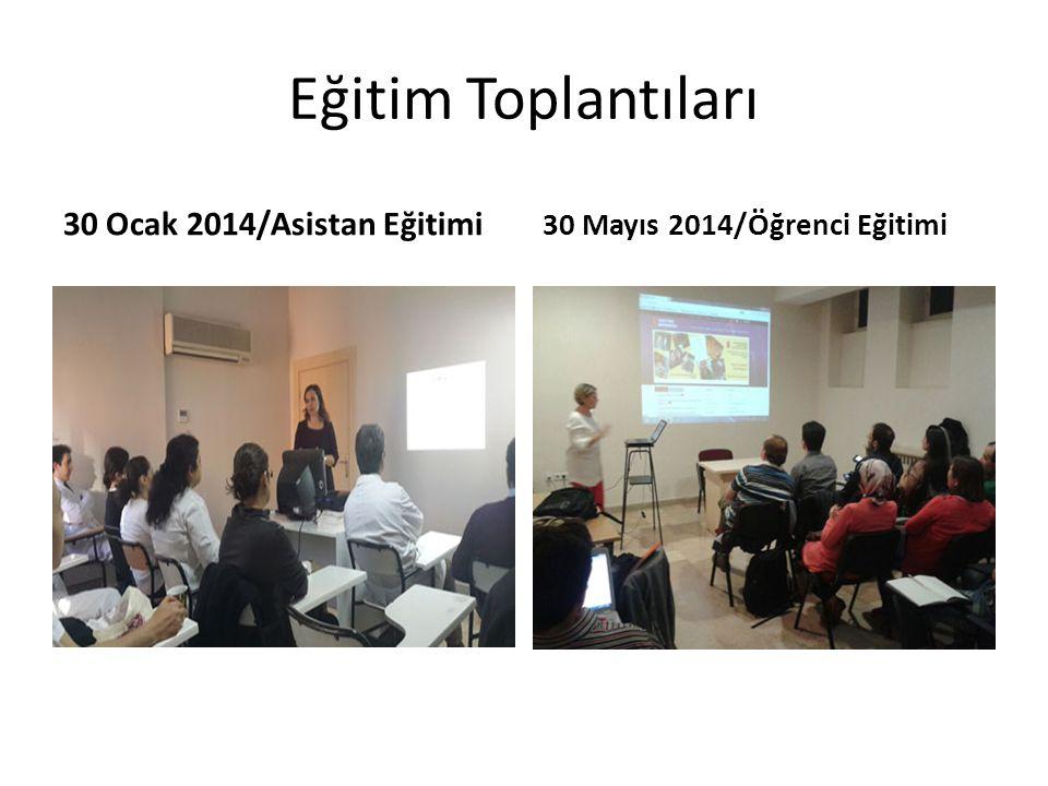 Eğitim Toplantıları 30 Ocak 2014/Asistan Eğitimi