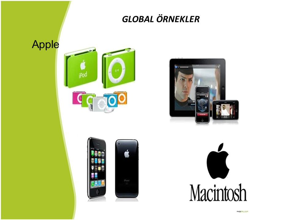 GLOBAL ÖRNEKLER Apple