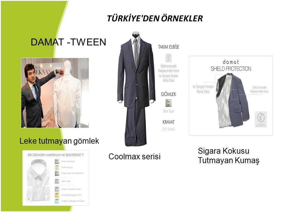 DAMAT -TWEEN TÜRKİYE DEN ÖRNEKLER Leke tutmayan gömlek