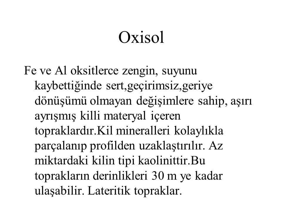 Oxisol