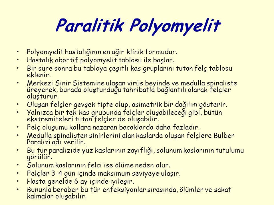 Paralitik Polyomyelit