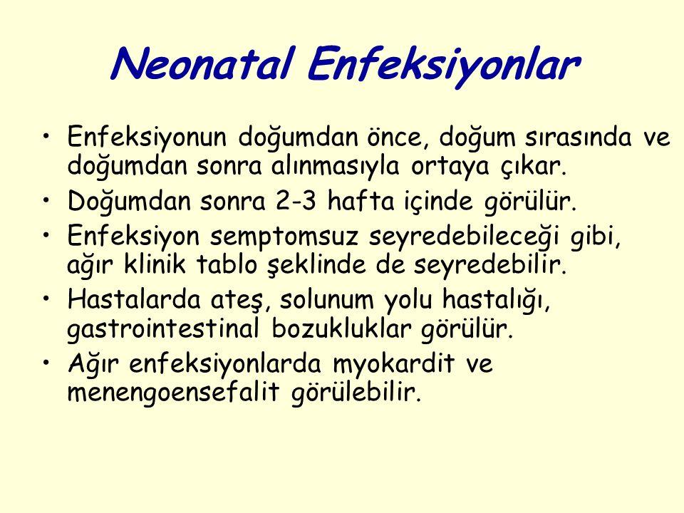 Neonatal Enfeksiyonlar