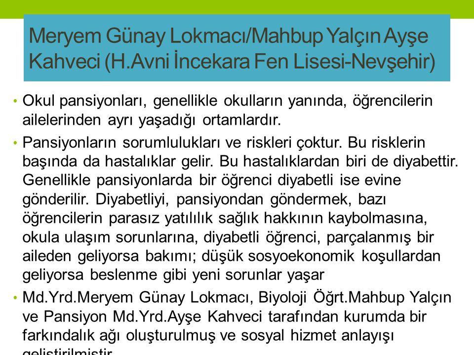 Meryem Günay Lokmacı/Mahbup Yalçın Ayşe Kahveci (H