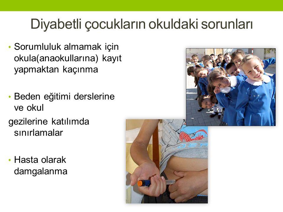 Diyabetli çocukların okuldaki sorunları