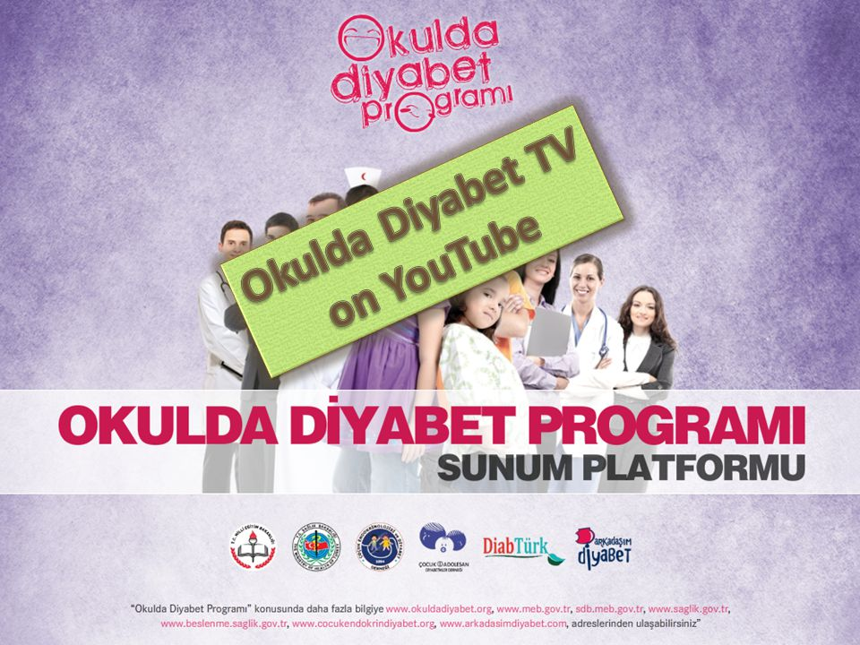 Okulda Diyabet TV on YouTube