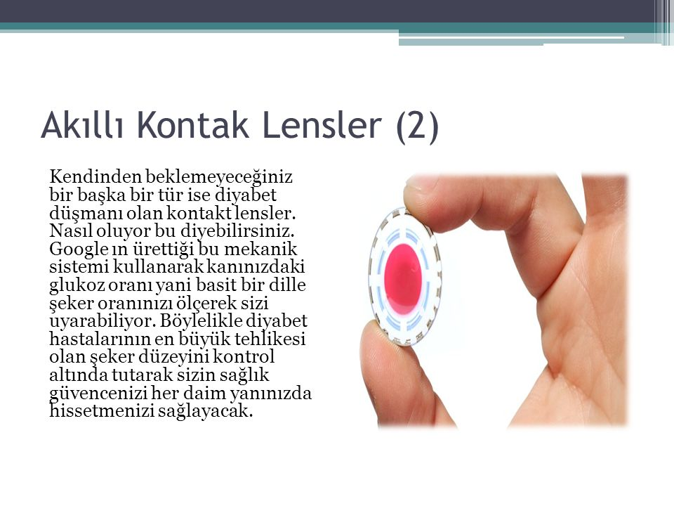 Akıllı Kontak Lensler (2)