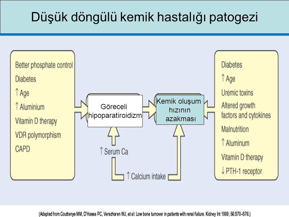 Düşük döngülü kemik hastalığı patogezi