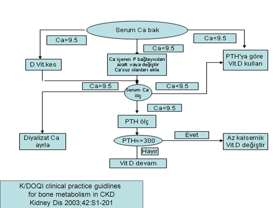 K/DOQI clinical practice guidlines for bone metabolism in CKD