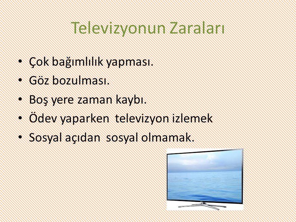 Televizyonun Zaraları