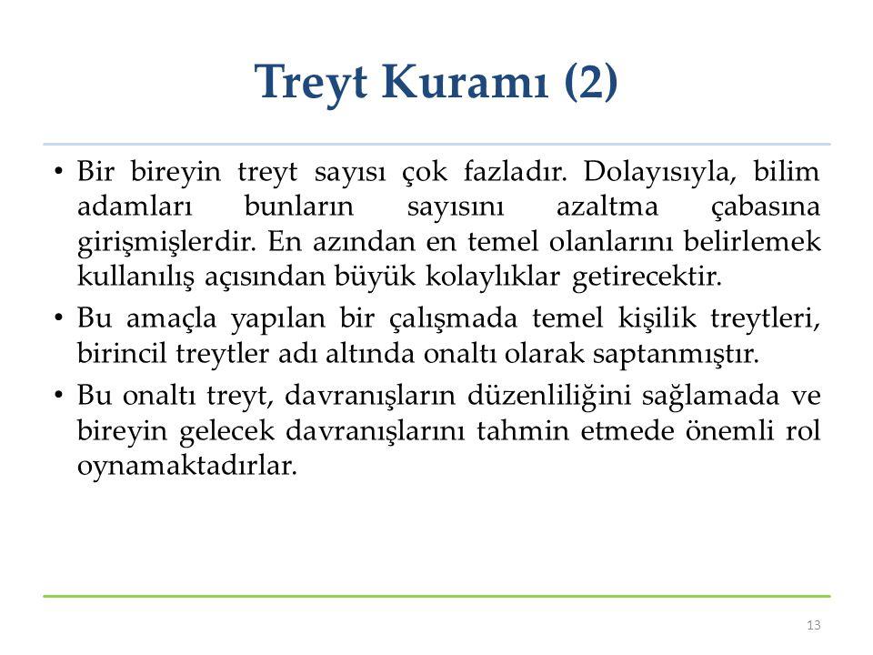 Treyt Kuramı (2)