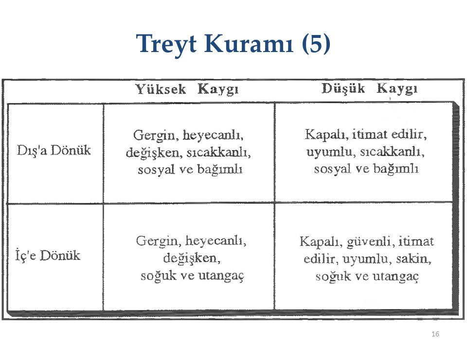 Treyt Kuramı (5)
