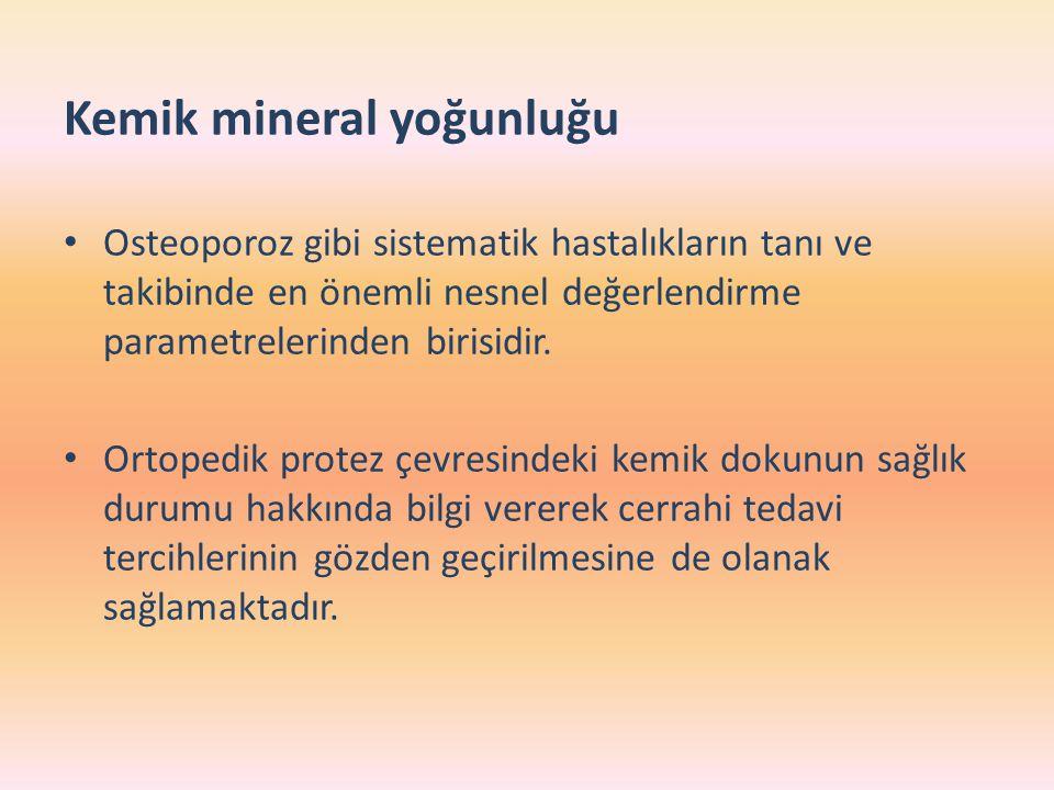 Kemik mineral yoğunluğu