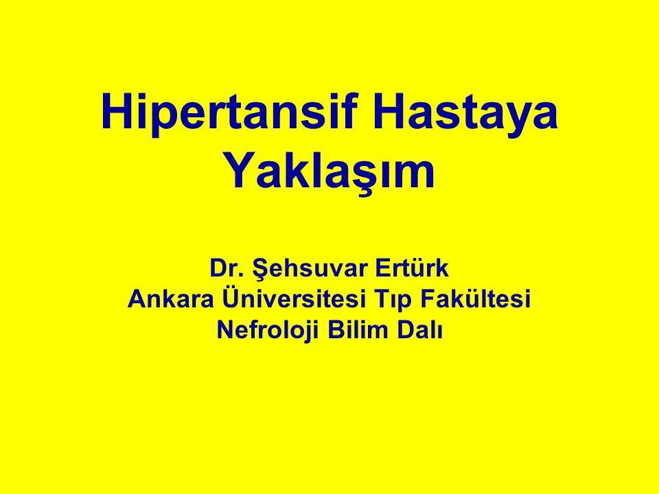 Hipertansif Hastaya Yaklaşım Dr