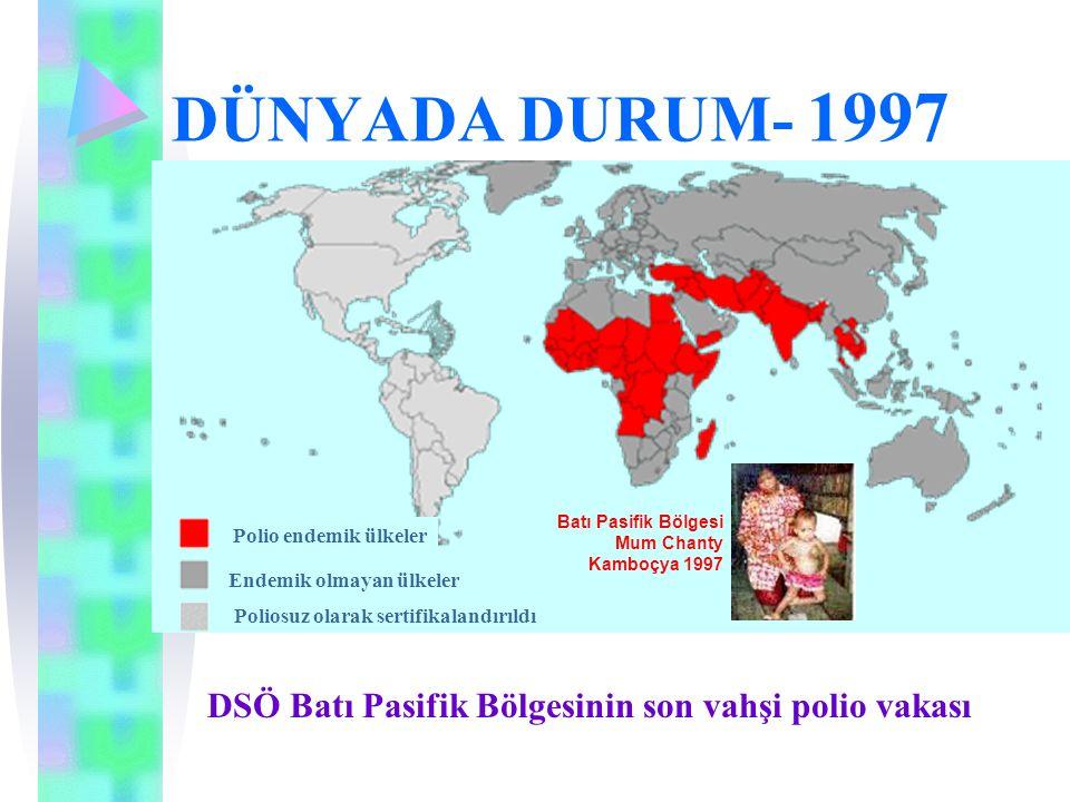 DSÖ Batı Pasifik Bölgesinin son vahşi polio vakası