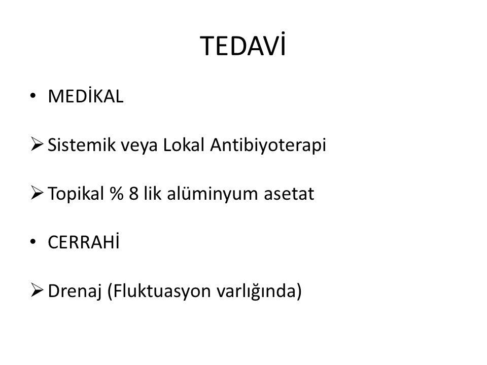 TEDAVİ MEDİKAL Sistemik veya Lokal Antibiyoterapi