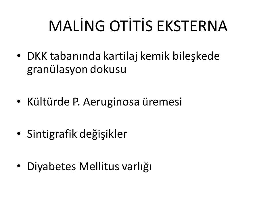 MALİNG OTİTİS EKSTERNA