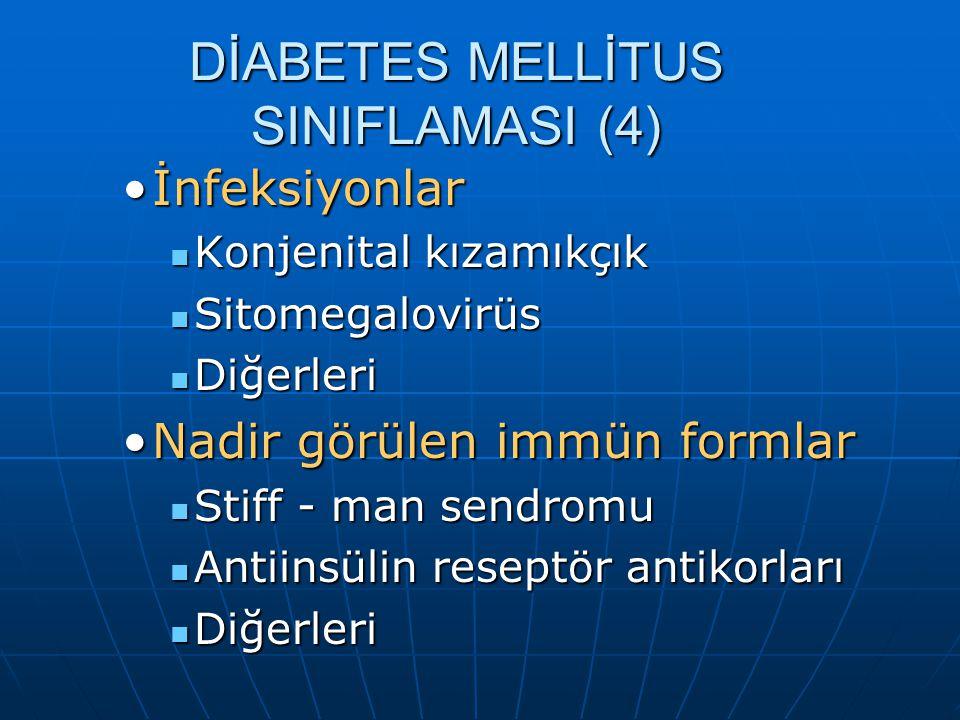 DİABETES MELLİTUS SINIFLAMASI (4)