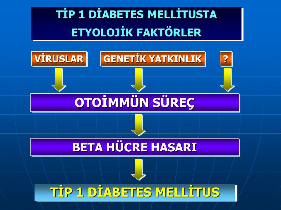 TİP 1 DİABETES MELLİTUSTA