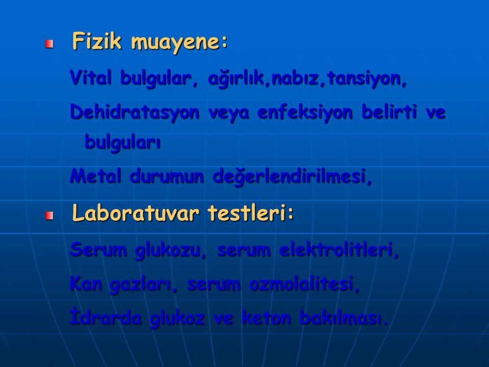 Laboratuvar testleri:
