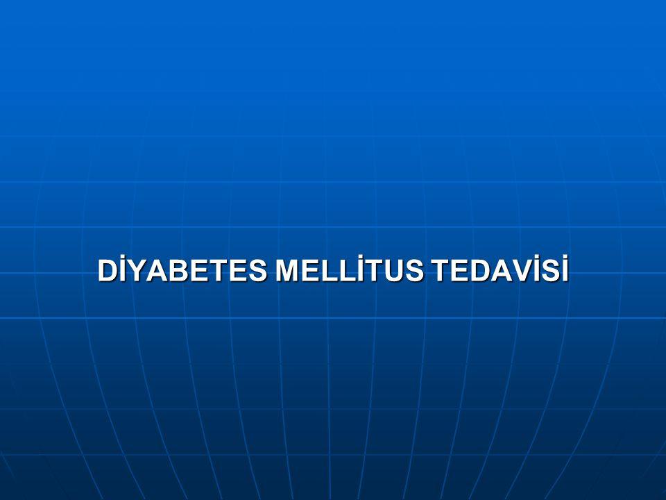 DİYABETES MELLİTUS TEDAVİSİ