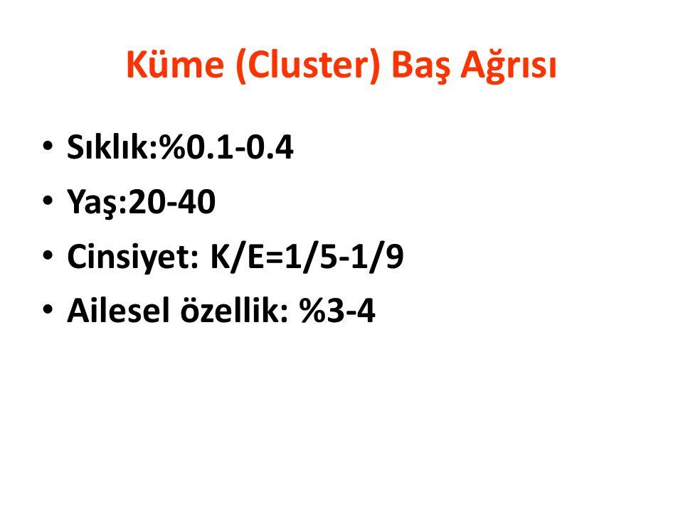 Küme (Cluster) Baş Ağrısı