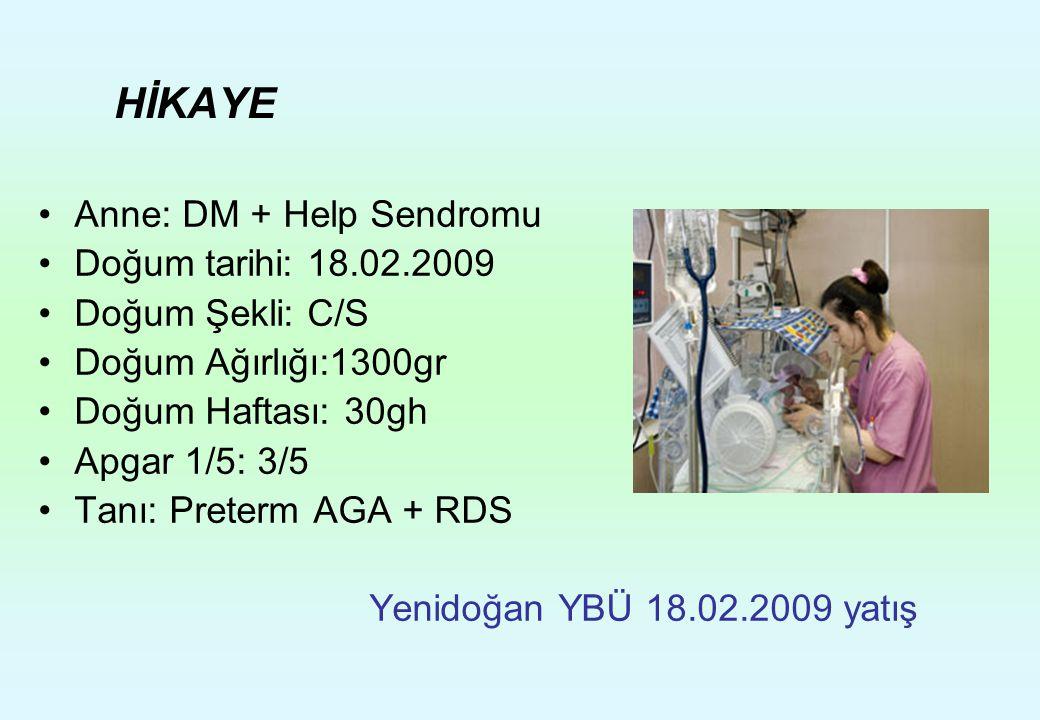 HİKAYE Anne: DM + Help Sendromu Doğum tarihi: 18.02.2009