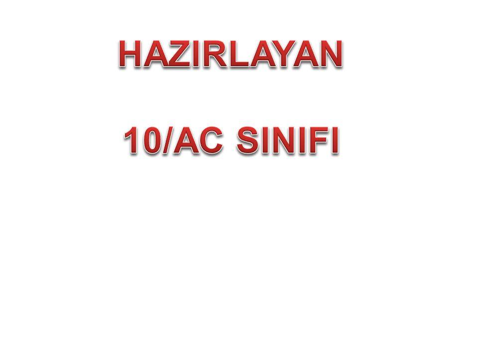 HAZIRLAYAN 10/AC SINIFI