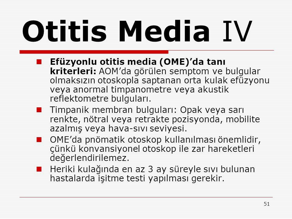 Otitis Media IV