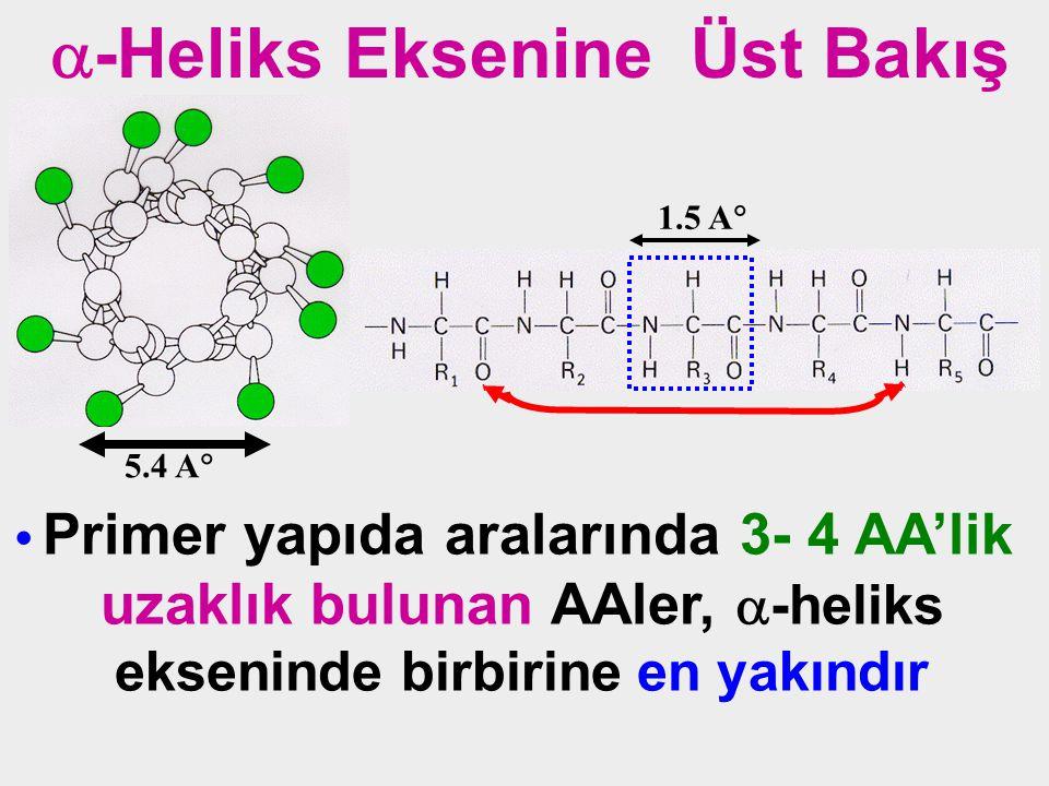 uzaklık bulunan AAler, -heliks