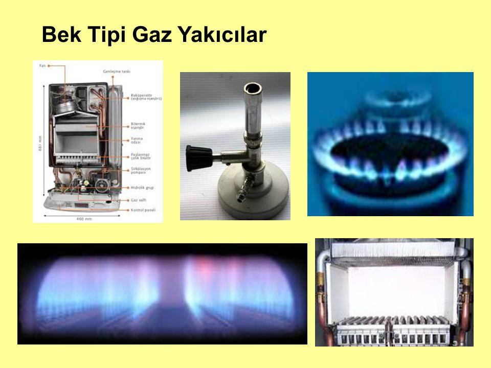 Bek Tipi Gaz Yakıcılar
