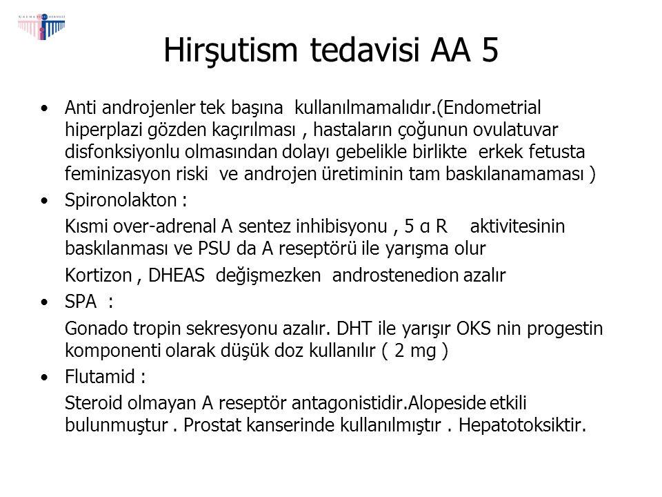 Hirşutism tedavisi AA 5