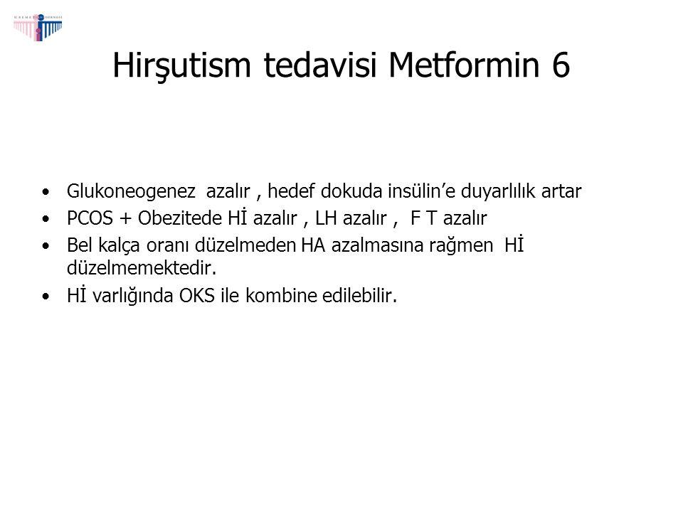 Hirşutism tedavisi Metformin 6