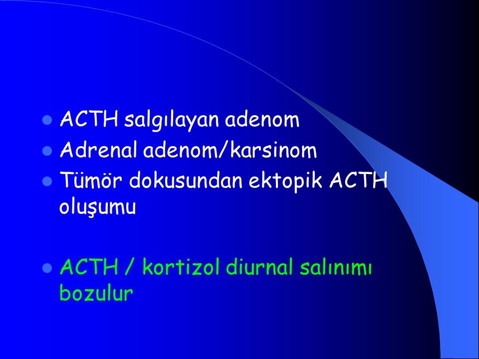 ACTH salgılayan adenom
