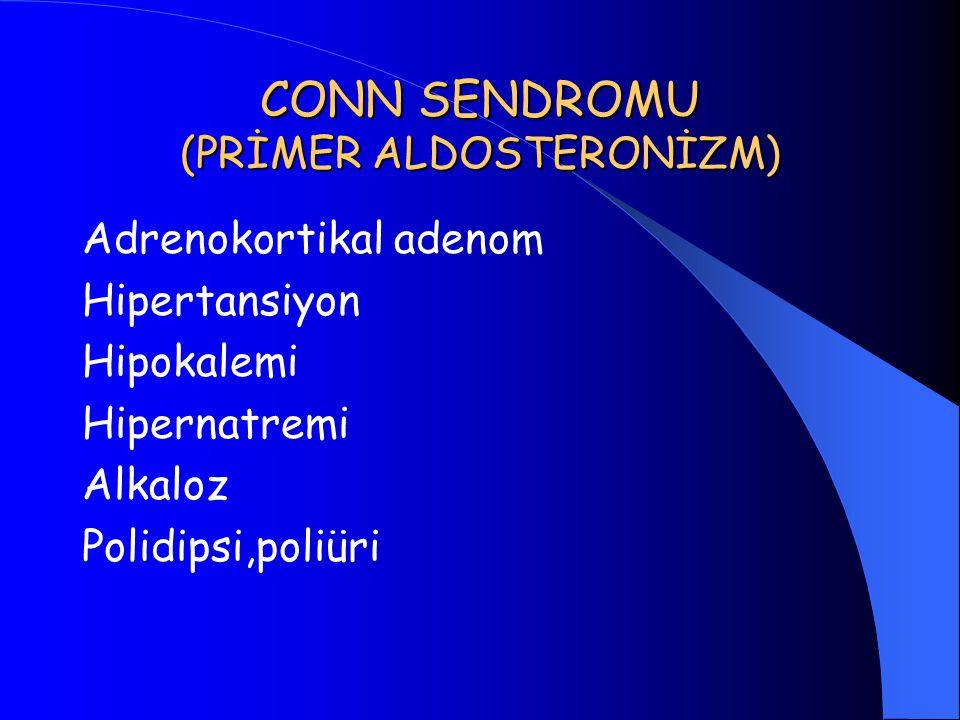 CONN SENDROMU (PRİMER ALDOSTERONİZM)