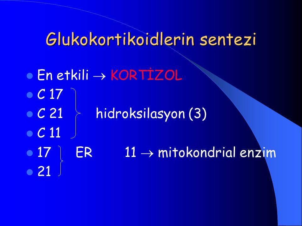 Glukokortikoidlerin sentezi