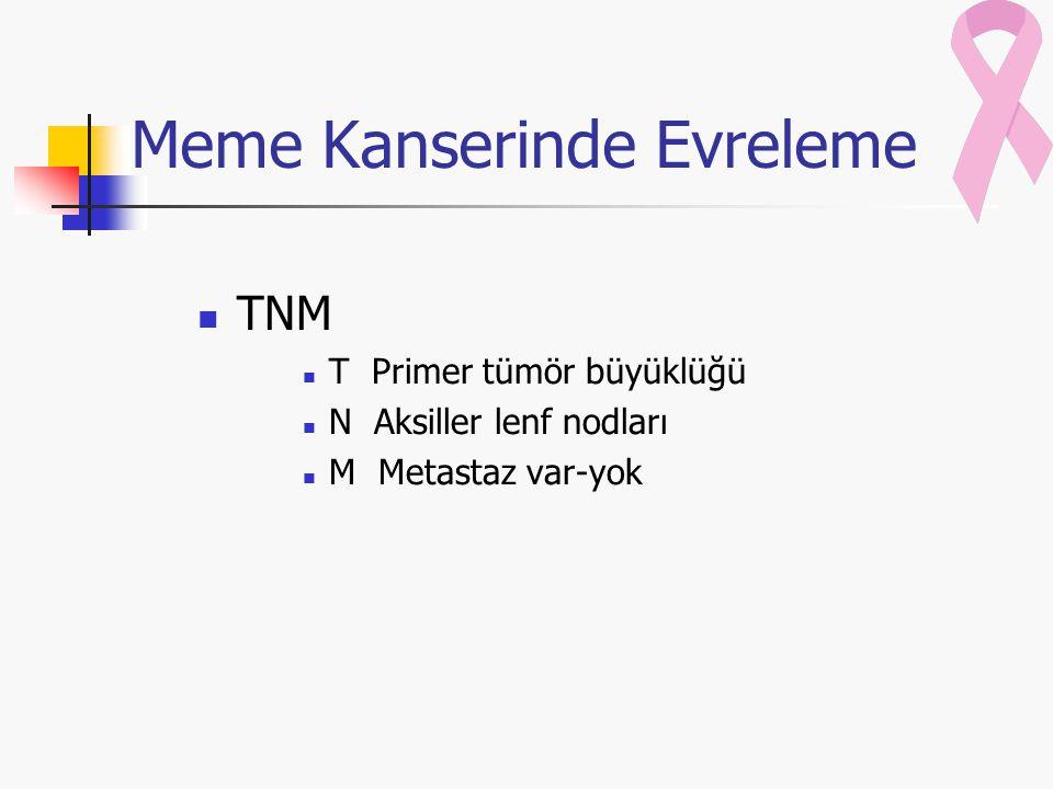 Meme Kanserinde Evreleme
