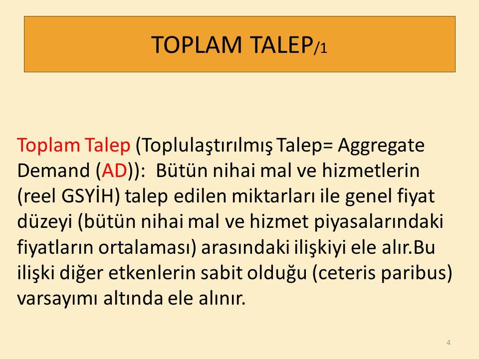 TOPLAM TALEP/1