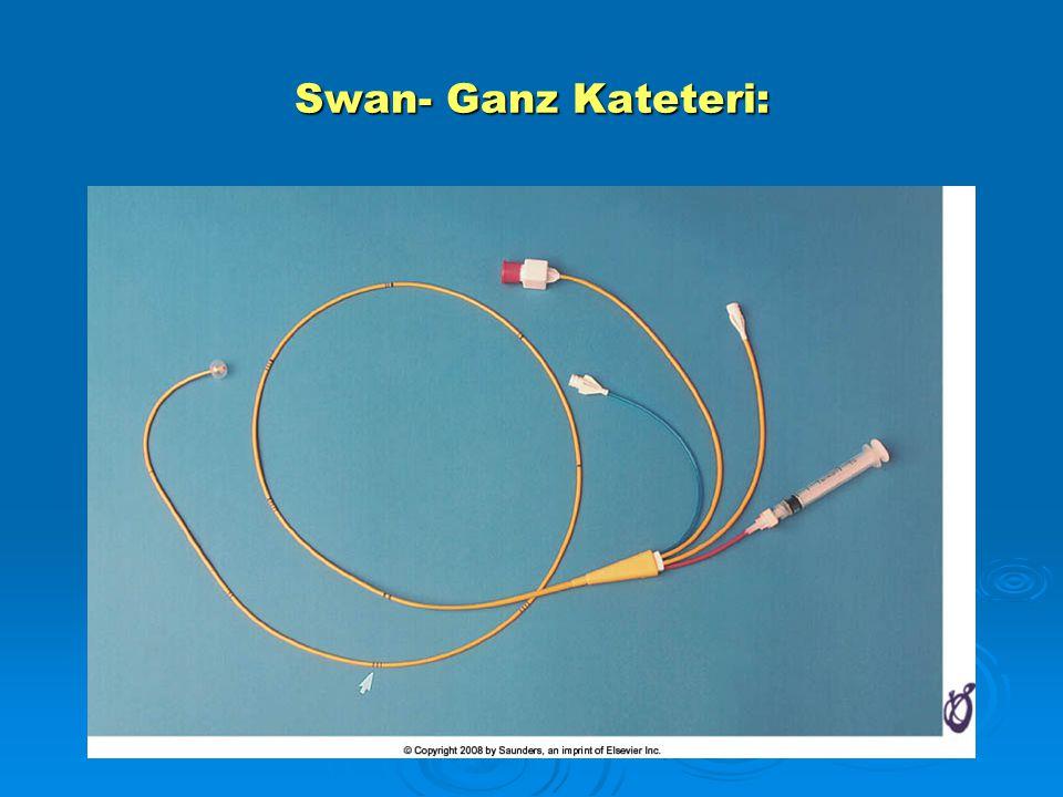 Swan- Ganz Kateteri: