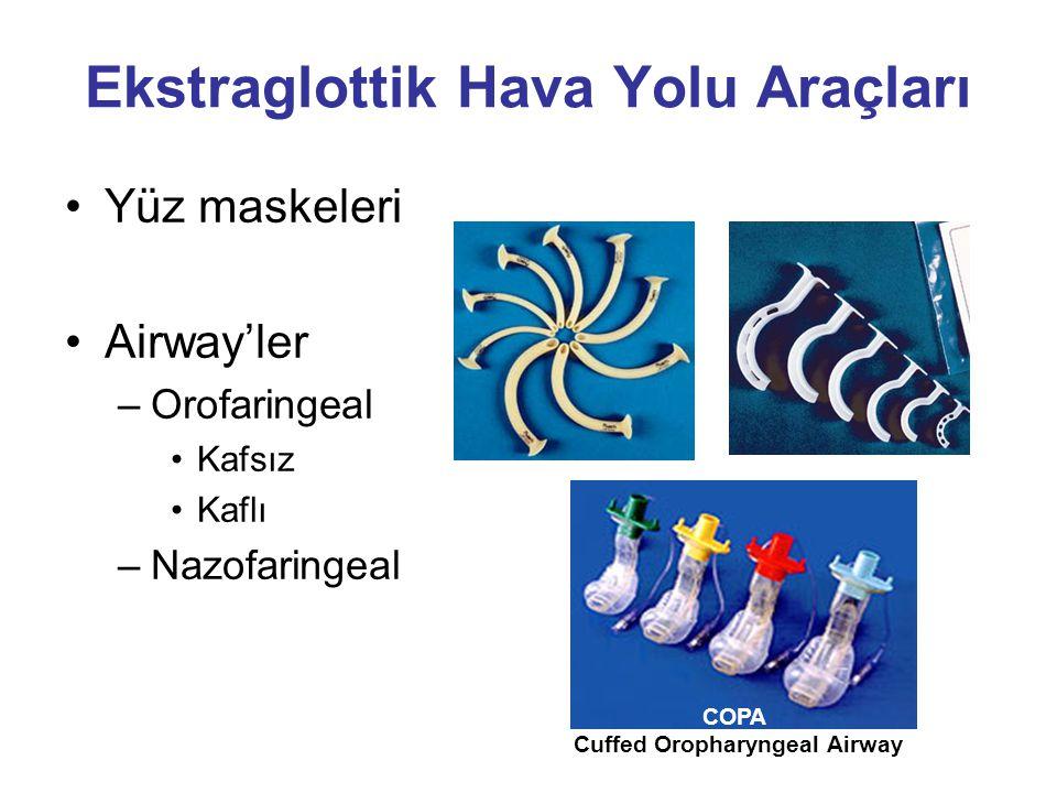 Ekstraglottik Hava Yolu Araçları