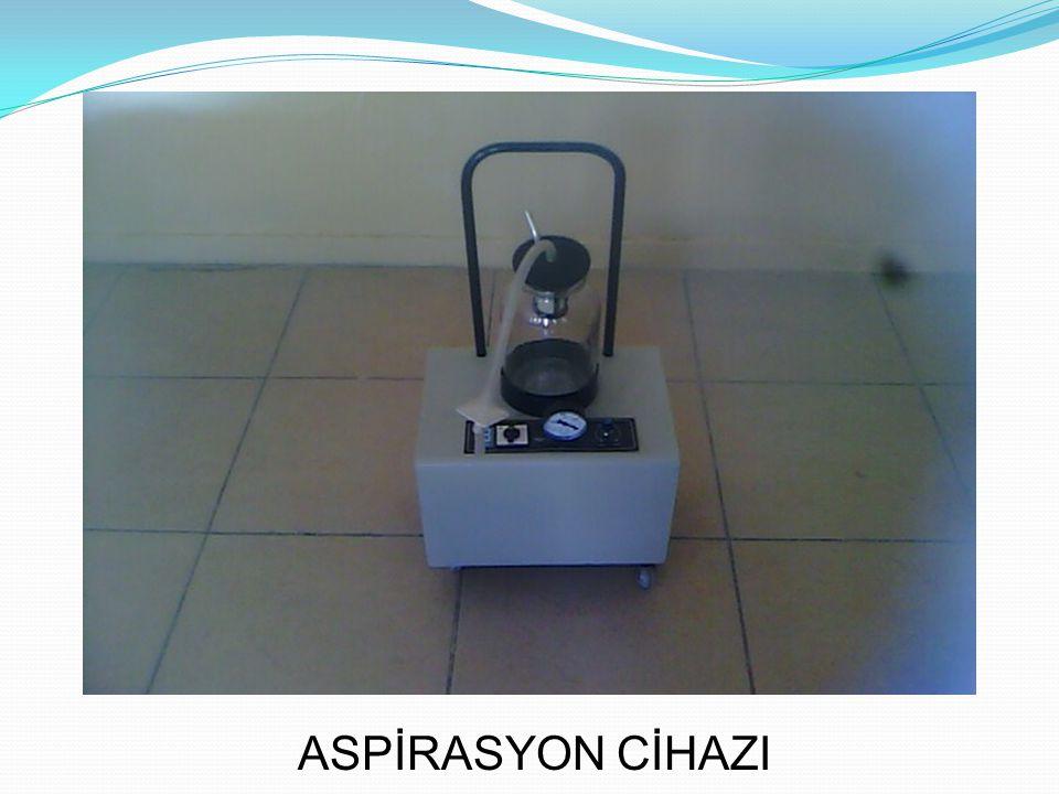 ASPİRASYON CİHAZI