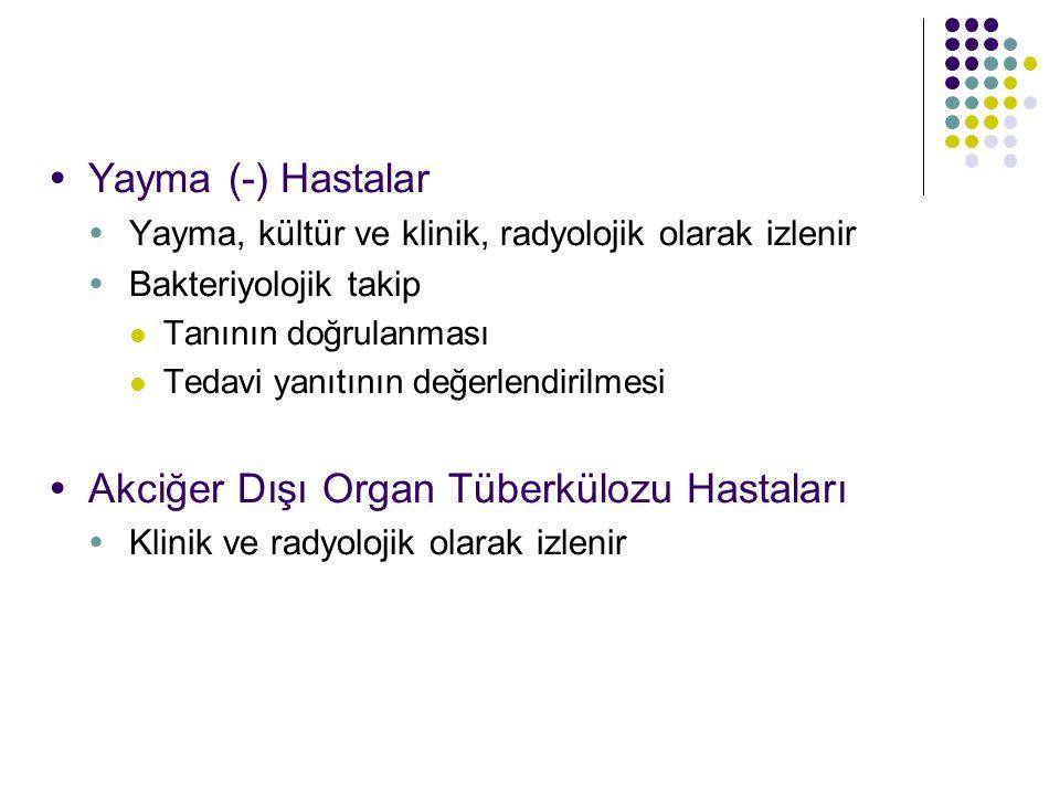 Akciğer Dışı Organ Tüberkülozu Hastaları
