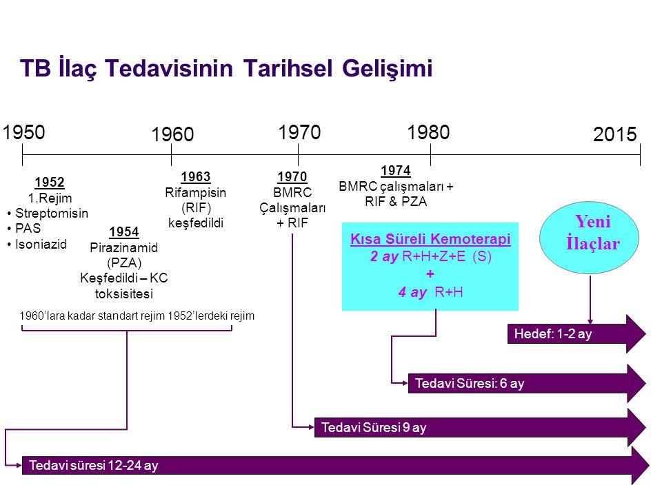 TB İlaç Tedavisinin Tarihsel Gelişimi
