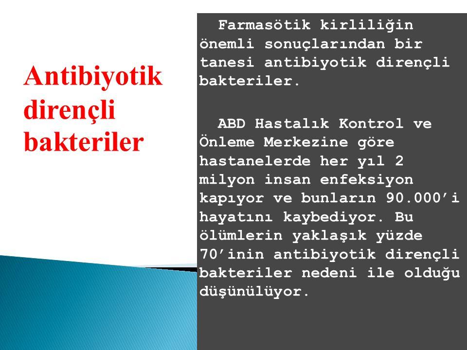 Antibiyotik dirençli bakteriler