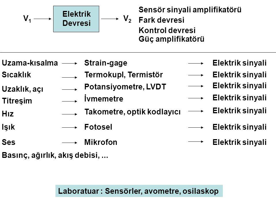 Sensör sinyali amplifikatörü