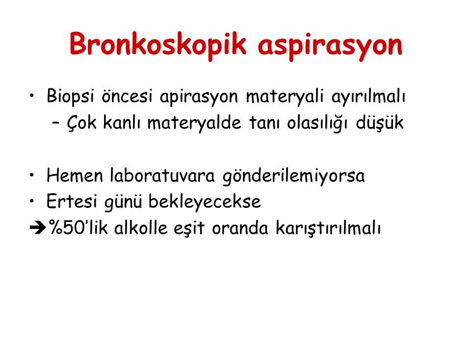 Bronkoskopik aspirasyon