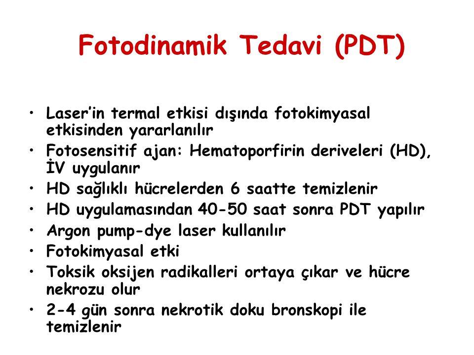 Fotodinamik Tedavi (PDT)