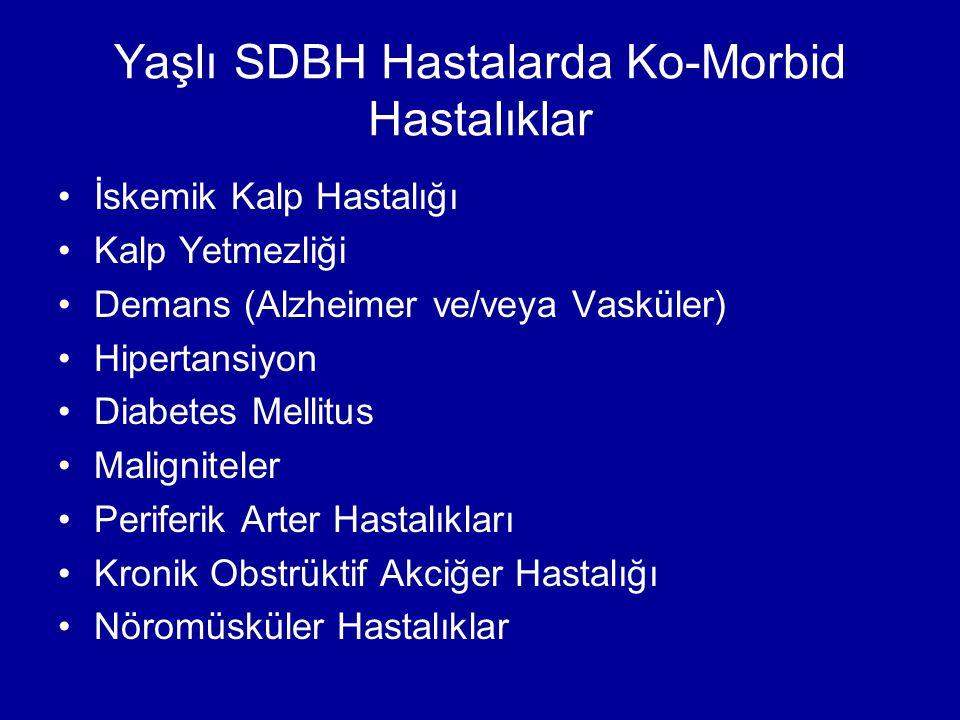 Yaşlı SDBH Hastalarda Ko-Morbid Hastalıklar